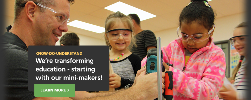 New Westminster Schools Mini-makers