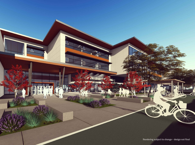 We are now in the construction phase of our new westminster secondary school replacement project a 106 5 million state of the art new home for one of